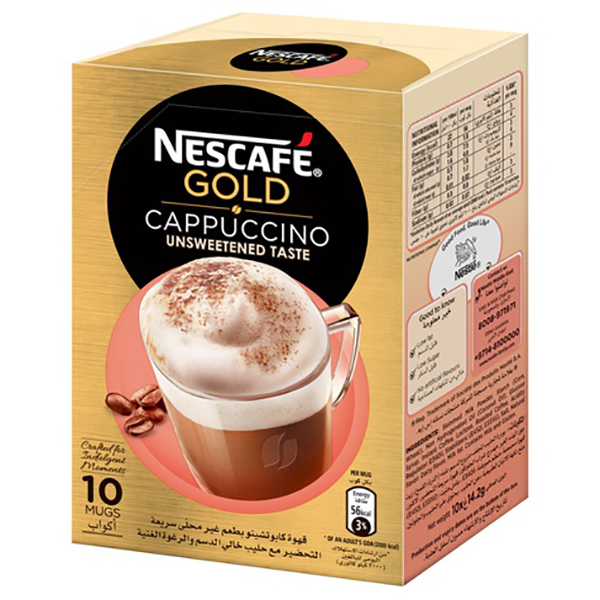 Nescafe Gold Cappuccino - 10x14.2g