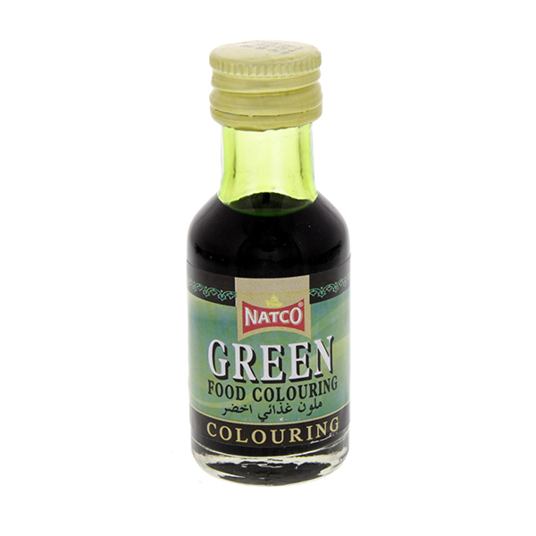 Natco Green Food Colour - 28ml