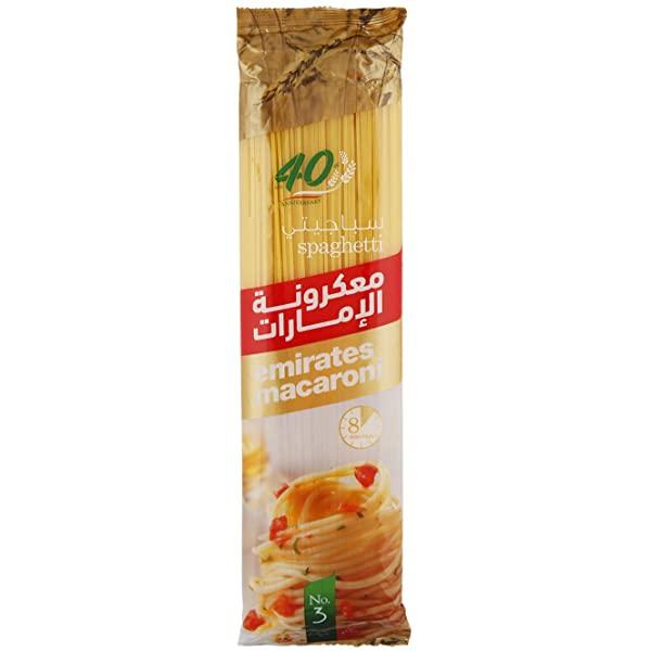 Emirates Macaroni Spaghetti - 400gm