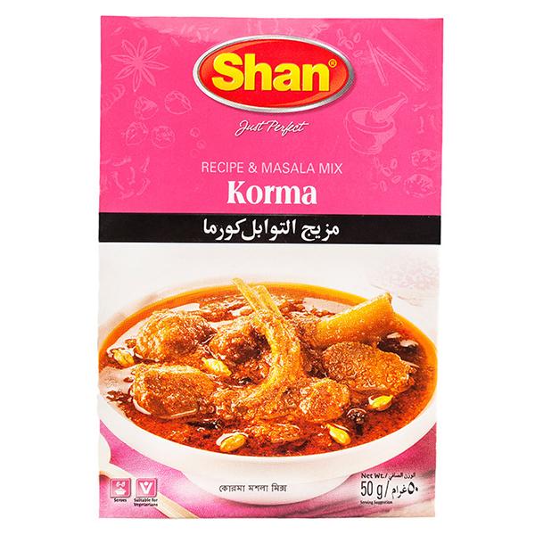 Shan Korma Curry Mix Masala - 50gm
