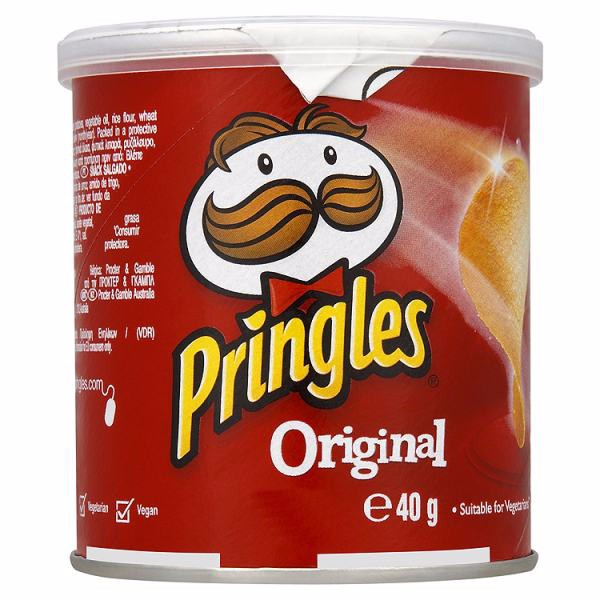Pringles Chips Original - 12x40g