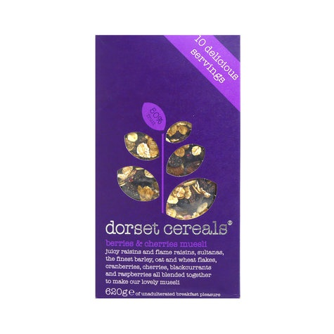 Dorset Cereals Berries & Cherries Muesli - 560gm