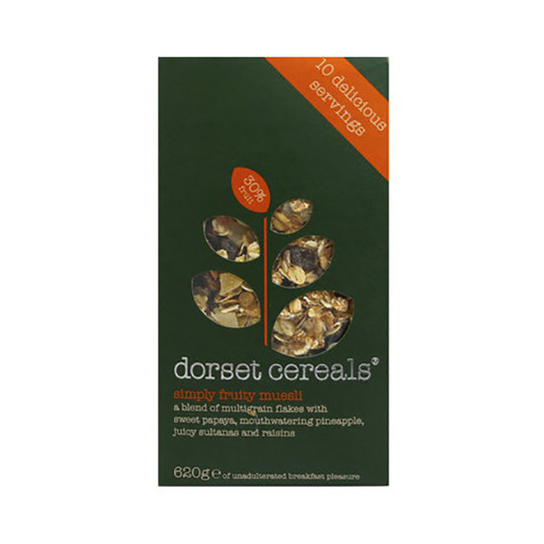 Dorset Cereals Simply Fruity Muesli - 620gm