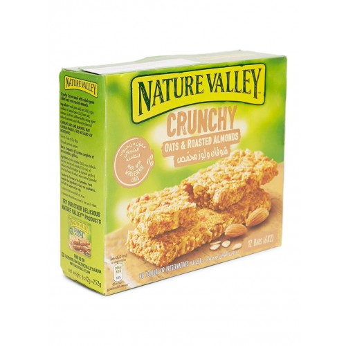 Nature Valley Oats & Roasted Almond Granola Bars - 252gm