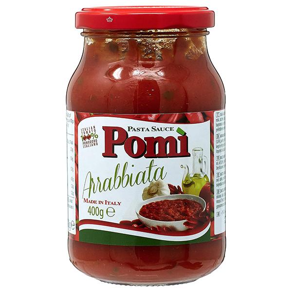 Pomi Arabiatta Pasta Sauce Jar - 400gm