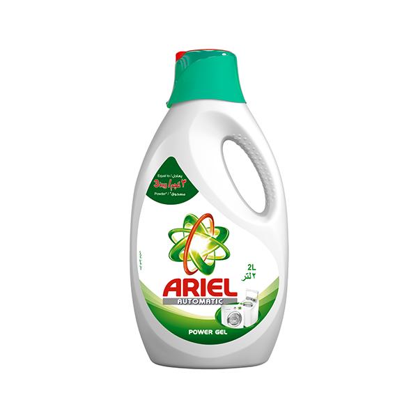 Ariel Automatic Power Gel Laundry Detergent Original Scent Green - 2L