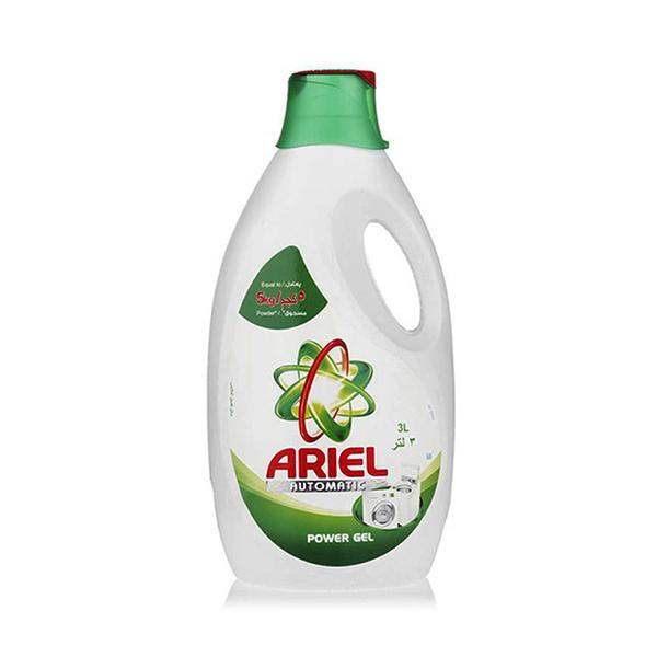Ariel Automatic Power Gel Laundry Detergent Original Scent Green - 3L
