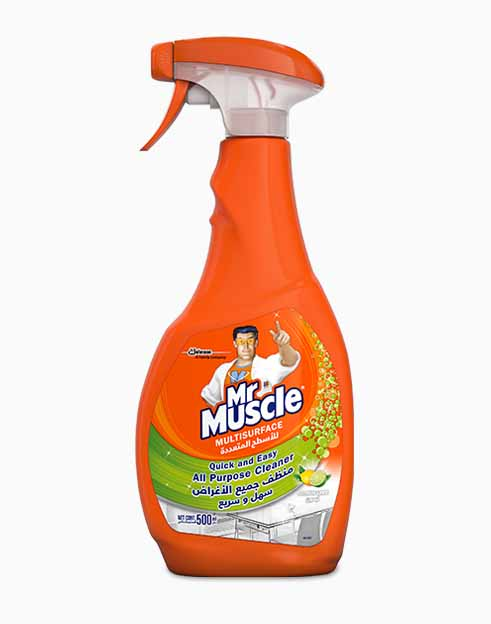 Mr. Muscle 5 In 1 Lime All Purpose Cleaner - 500ml