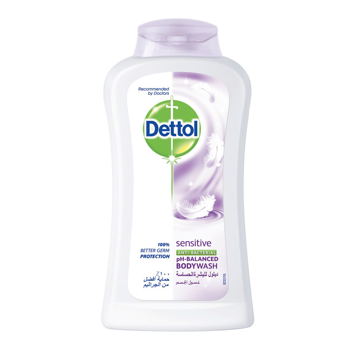 Dettol Sensitive Anti-Bacterial Body Wash - 250ml