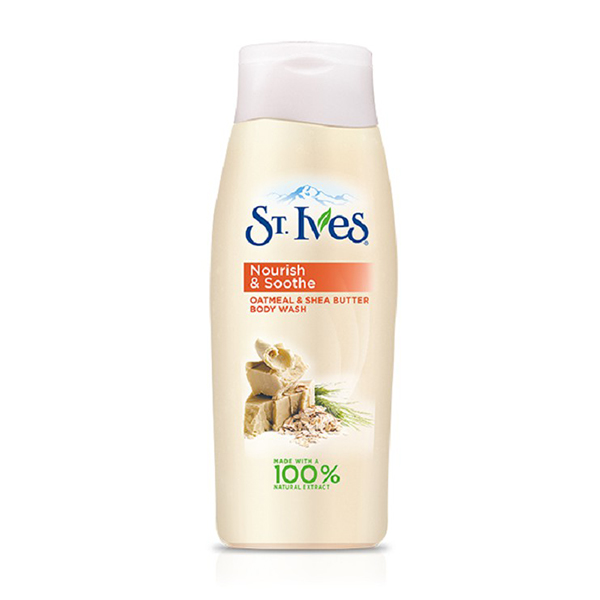 St. Ives Soothing Oatmeal and Shea Butter Body Wash - 400ml