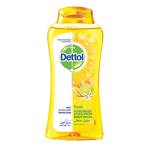 Dettol Fresh Anti-Bacterial Body Wash - 250ml