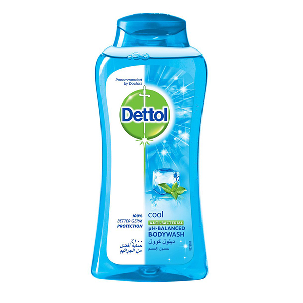Dettol Cool Anti- Bacterial Body Wash - 250ml