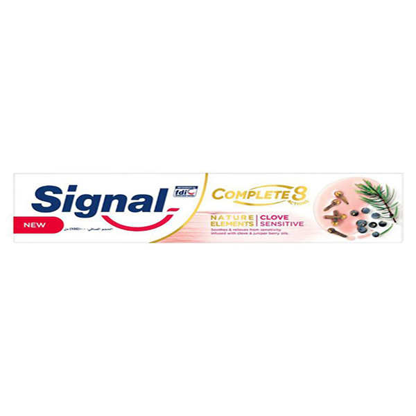 Signal Clove Sensitive Complete 8 Toothpaste - 100ml