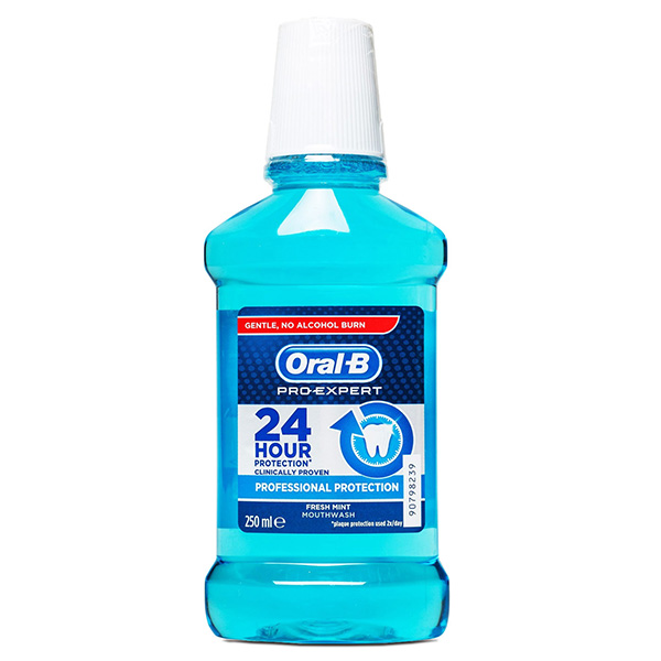 Oral-B Pro-Expert Professional Protection Fresh Mint Mouthwash - 250 ml