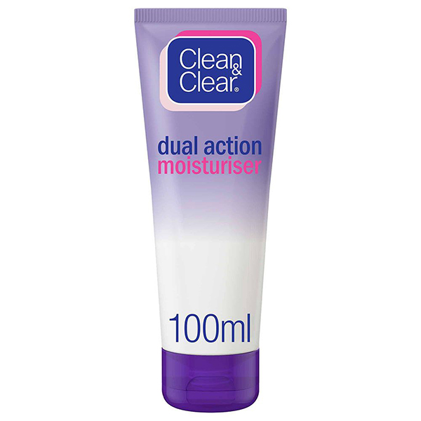 Clean & Clear Dual Action Moisturiser - 100ml