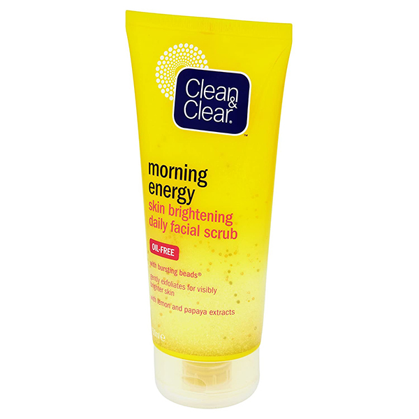 Clean & Clear Morning Energy Skin Brightening Daily Facial Scrub - 150ml