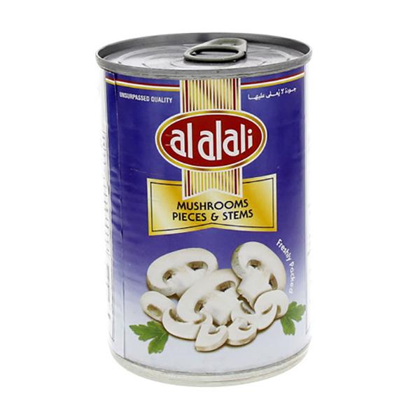 Al Alali Mushrooms Pieces & Stems - 400gm