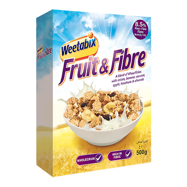 Weetabix Fruit and Fibre Flakes - 500gm