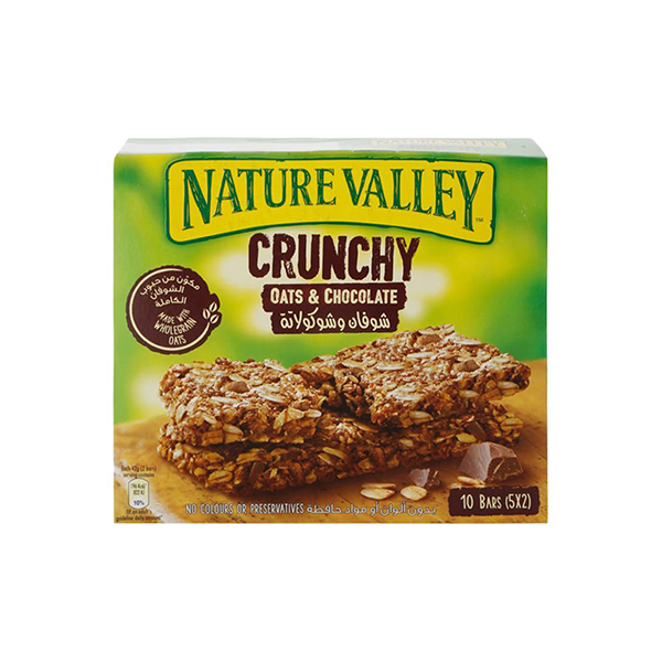 Nature Valley Oats & Chocolate Granola Bars - 210gm