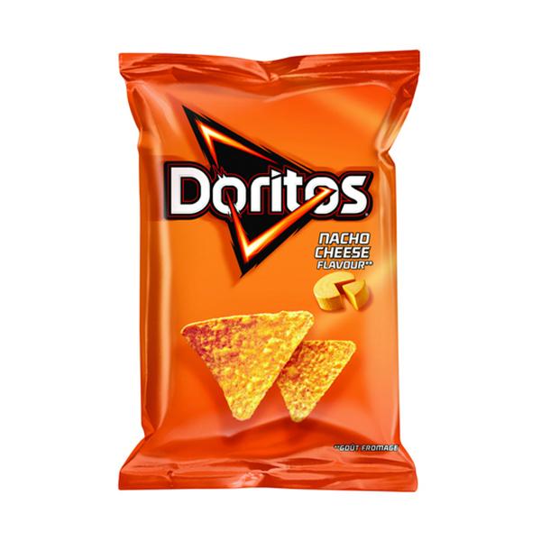 Doritos Nacho Cheese Tortilla Chips - 180gm