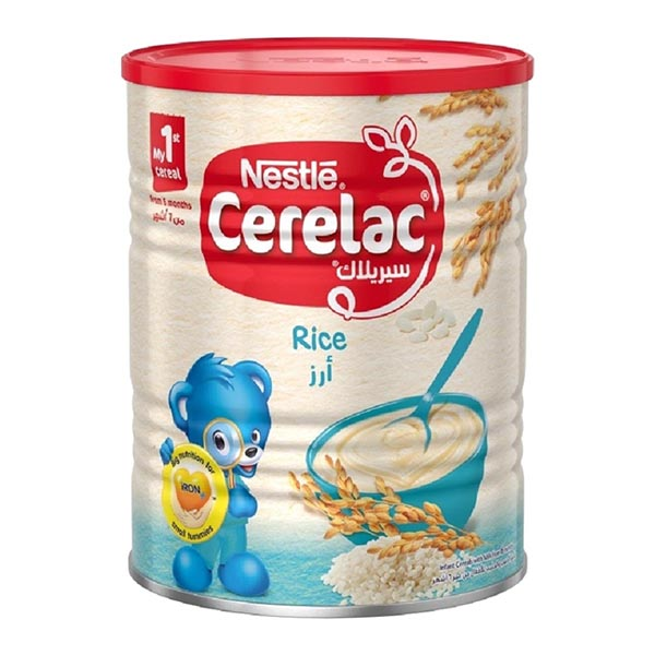 Nestle Cerelac Infant Cereal Baby Food Rice - 400gm