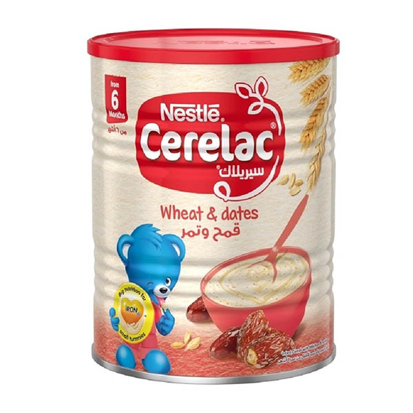 Nestle Cerelac Wheat And Date Pieces With Milk Infant Cereal - 400gm