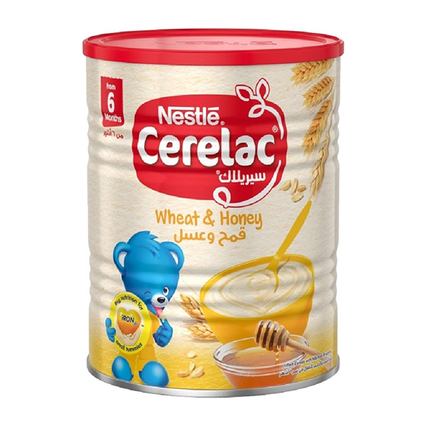 Nestle Cerelac Infant Cereal Wheat & Honey - 400gm