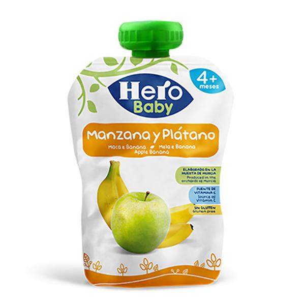 Hero Baby Apple Banana Pouch - 100gm