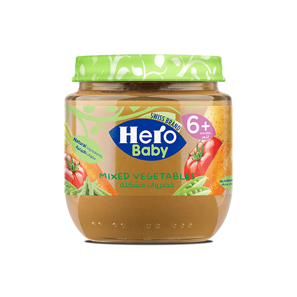 Hero Baby Mixed Vegetable Jar - 120gm