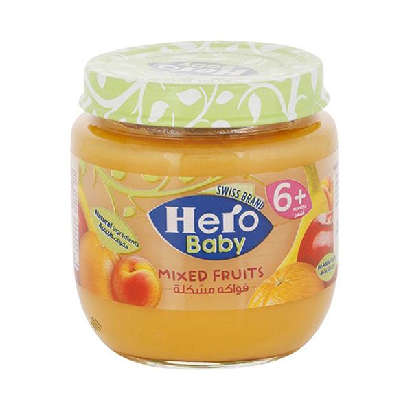 Hero Baby Mixed Fruits Jar - 125 gm