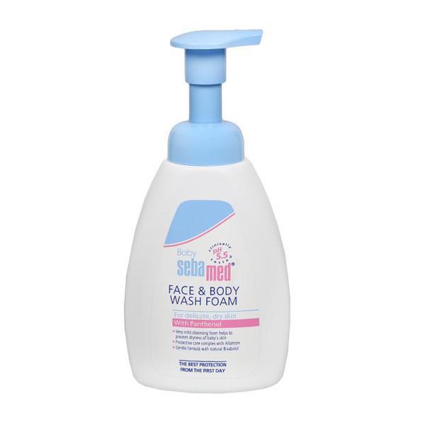Sebamed Face & Body Wash Foam - 400ml