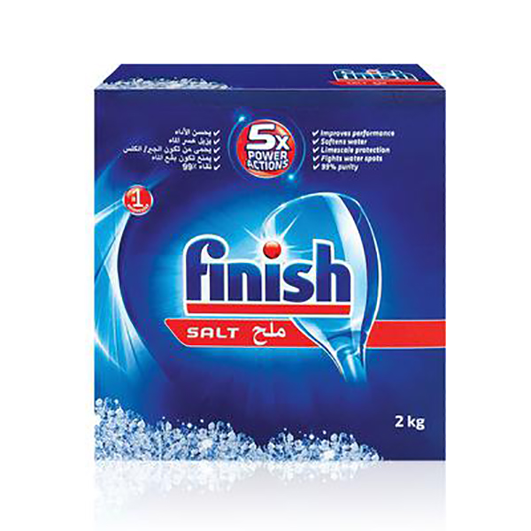 Finish Salt Dishwasher Detergent - 2kg