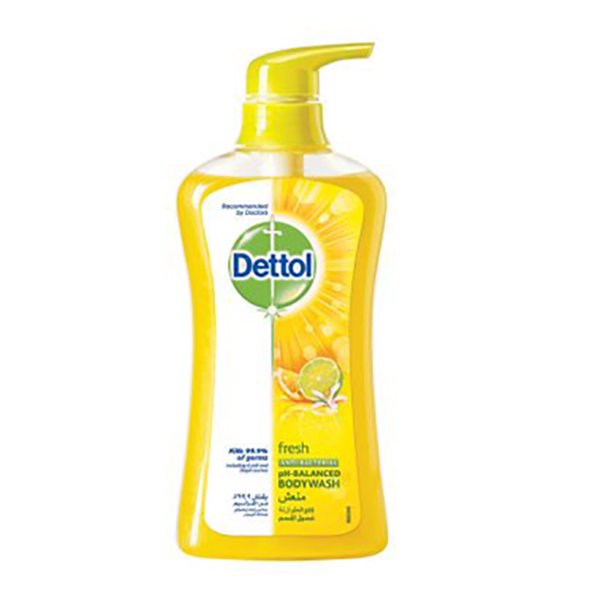 Dettol Fresh Anti-Bacterial Body wash - 500ml