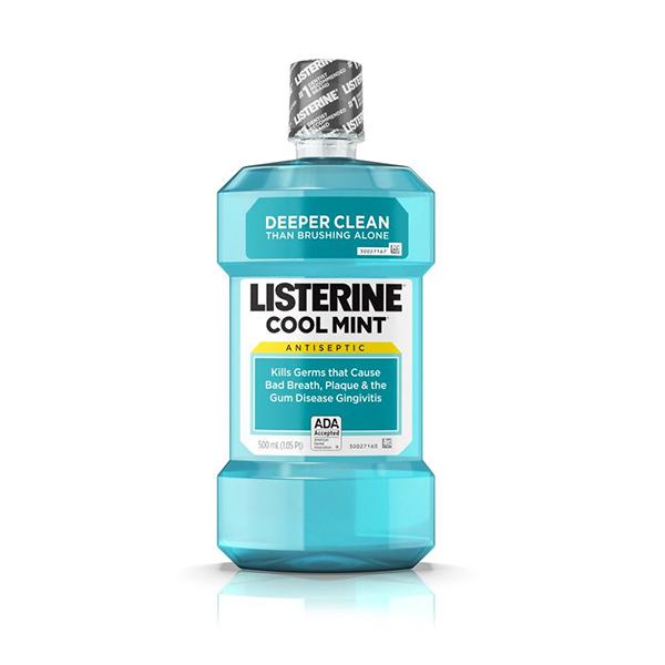 Listerine Cool Mint Mouthwash - 500ml