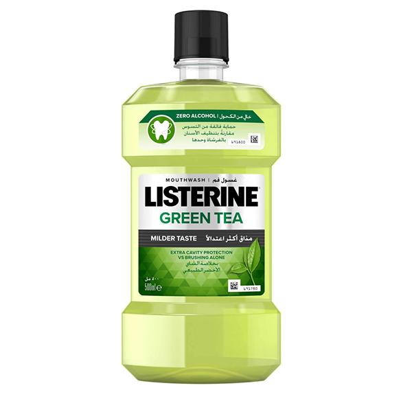 Listerine Green Tea mouthwash - 500ml