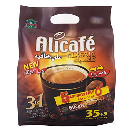 Alicafe Classic 3in1 Instant Coffee - 40 x 20gm