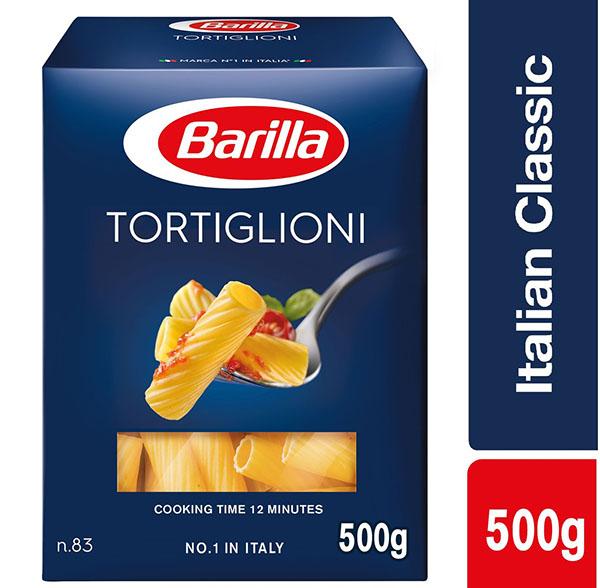 Barilla Tortiglioni Pasta - 500gm