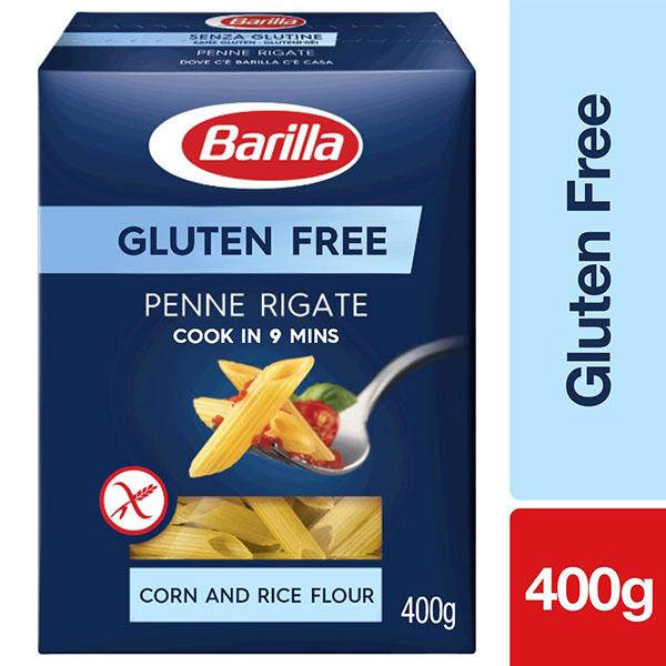 Barilla Gluten Free Penne Rigate Pasta - 400gm