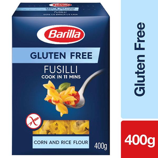 Barilla Gluten Free Fusilli Pasta - 400gm