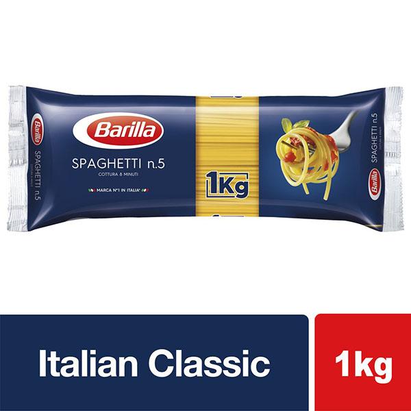 Barilla Spaghetti No.5 - 1Kg