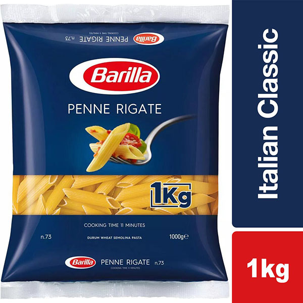 Barilla Penne Rigate - 1Kg