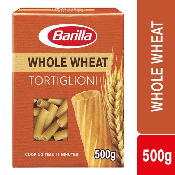 Barilla Tortiglioni Wholewheat - 500gm