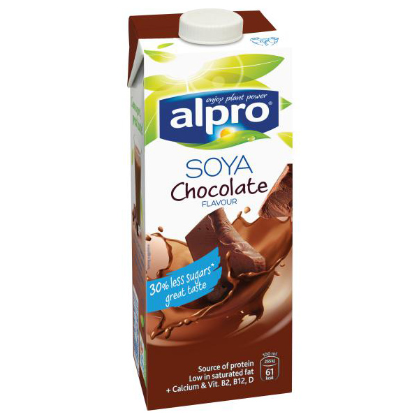 Alpro Soya Milk Chocolate Flavour - 1L