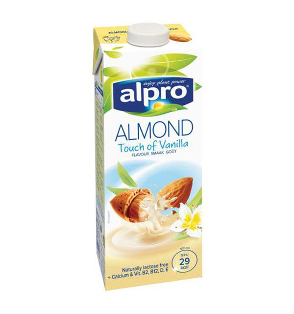 Alpro Almond Vanilla Flavour Milk - 1L