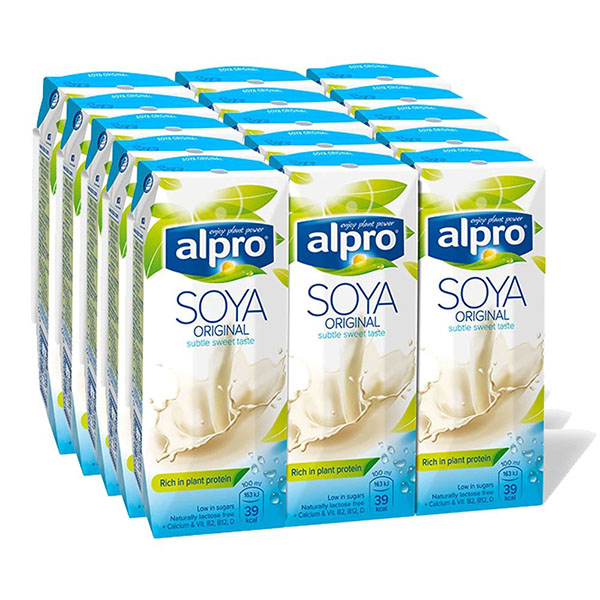 Alpro Soya Milk Original - 15x250ml