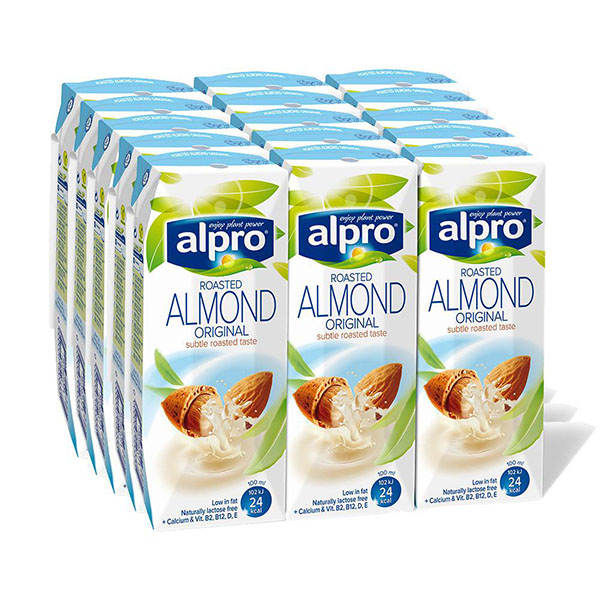 Alpro Almond Milk Original - 15x250ml