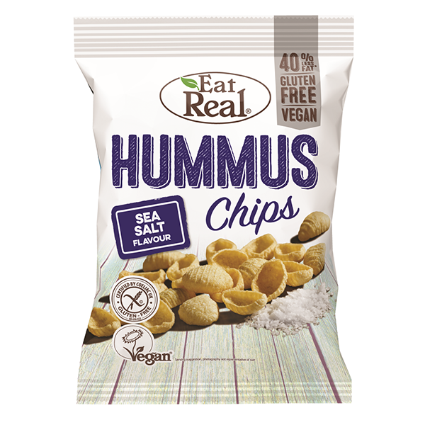 Eat Real Hummus Chips Sea Salt - 135gm