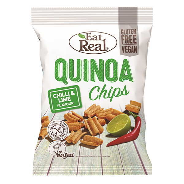 Eat Real Quinoa Chips Chilli & Lime - 30gm