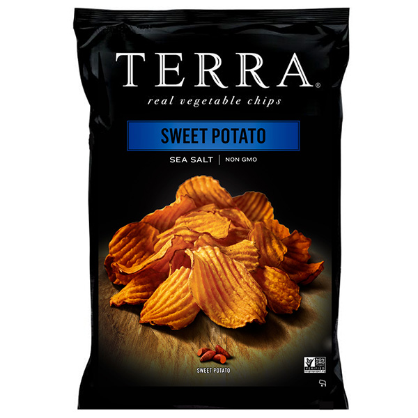 Terra Crinkled Sweet Potato Chips Sea Salt - 30gm