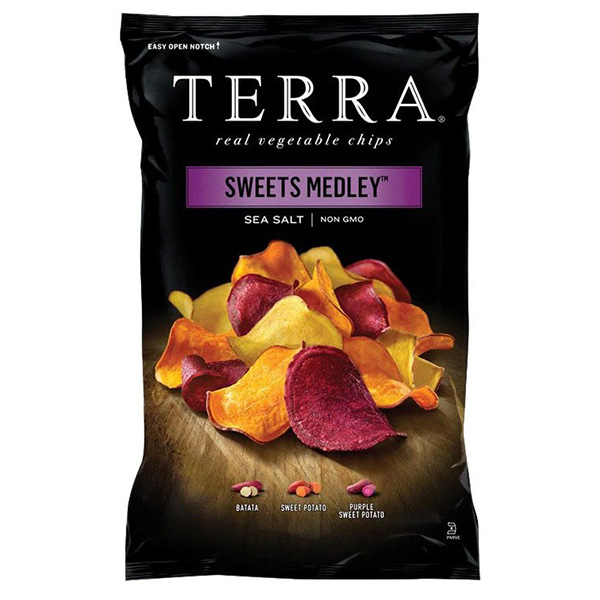 Terra Sweets Medley Vegetable Chips Sea Salt - 30gm